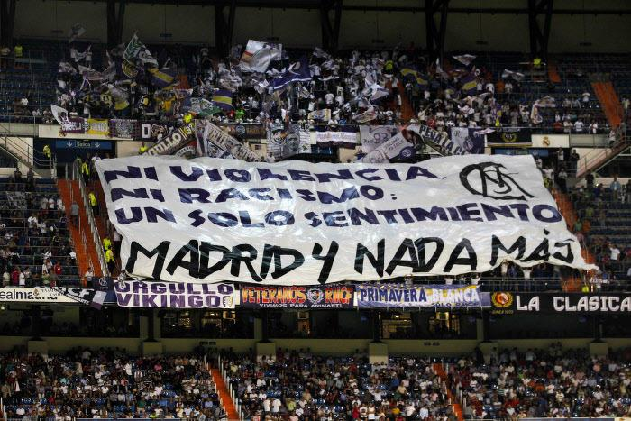 Supporters Real Madrid
