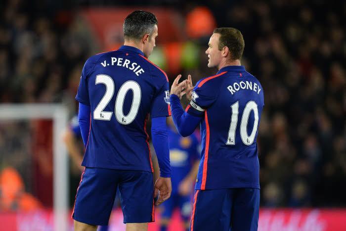 Robin Van Persie et Wayne Rooney, Manchester United