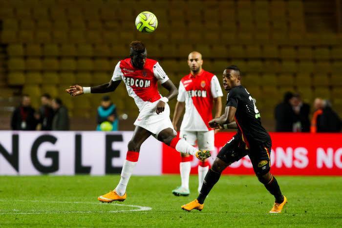 Tiémoué Bakayoko avec l'AS Monaco