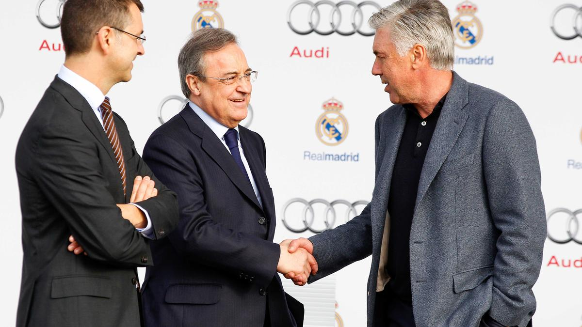 Florentino Pérez & Carlo Ancelotti