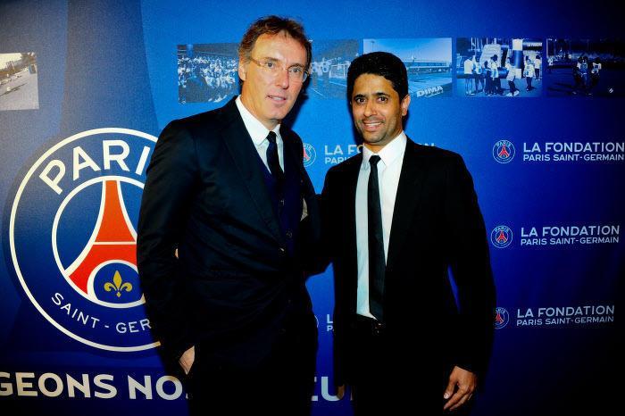 PSG : Le message de Nasser Al-Khelaïfi sur l'avenir de Laurent Blanc