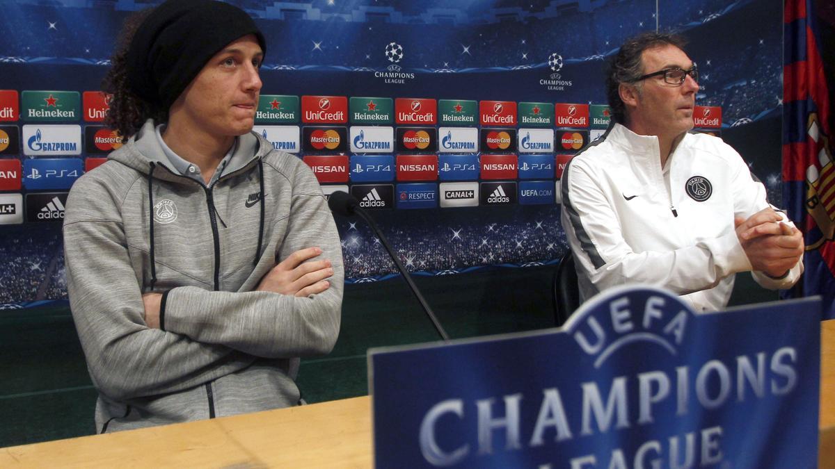 PSG : David Luiz prend position pour l'avenir de Laurent Blanc
