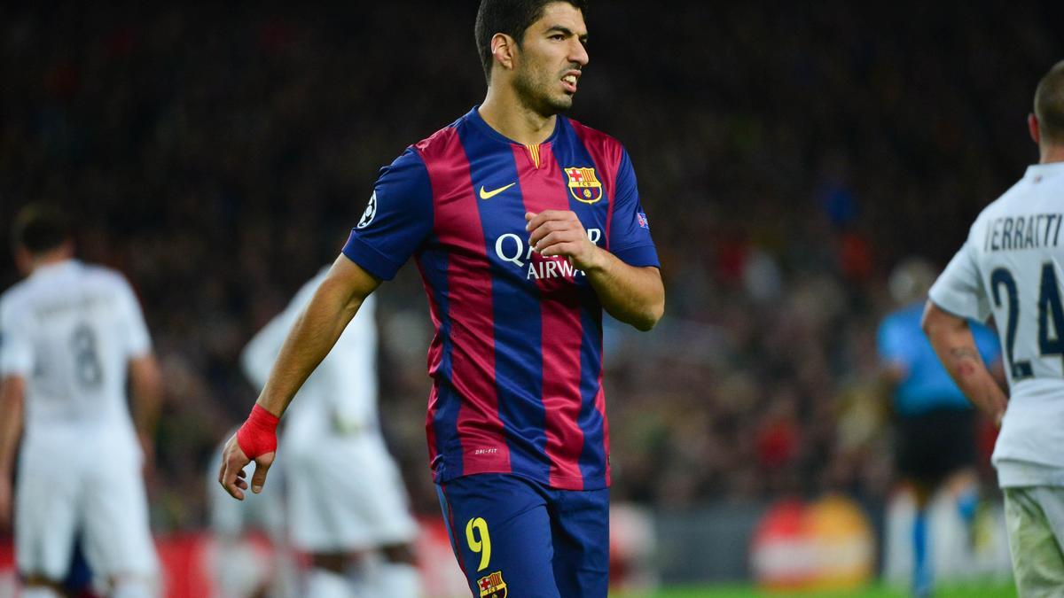 Luis Suarez, Barcelone