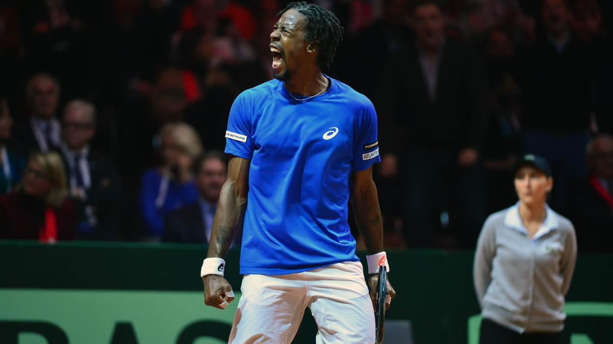 Tennis - Coupe Davis : Ga�l Monfils persiste et signe !
