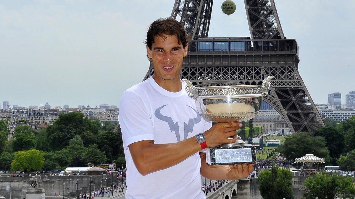 Rafael Nadal, Paris