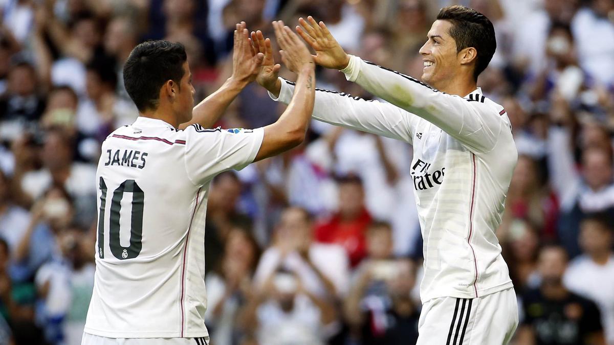 Real Madrid : James Rodriguez plus populaire que Cristiano Ronaldo et Lionel Messi ?