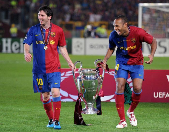 Football: «Maradona est spécial et Messi est une blague», dixit Thierry Henry