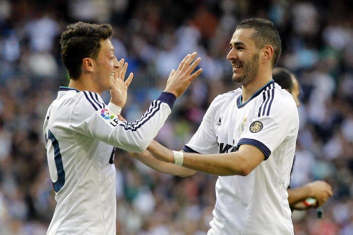Mesut Özil - Karim Benzema, Real Madrid