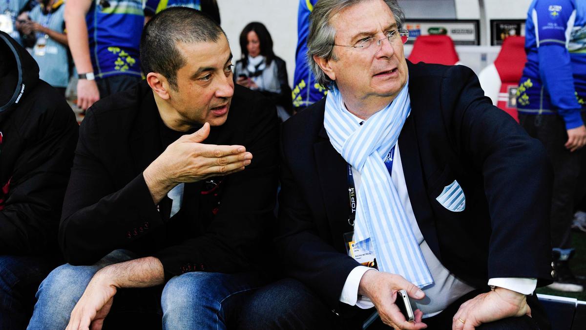 Mourad Boudjellal & Jacky Lorenzetti