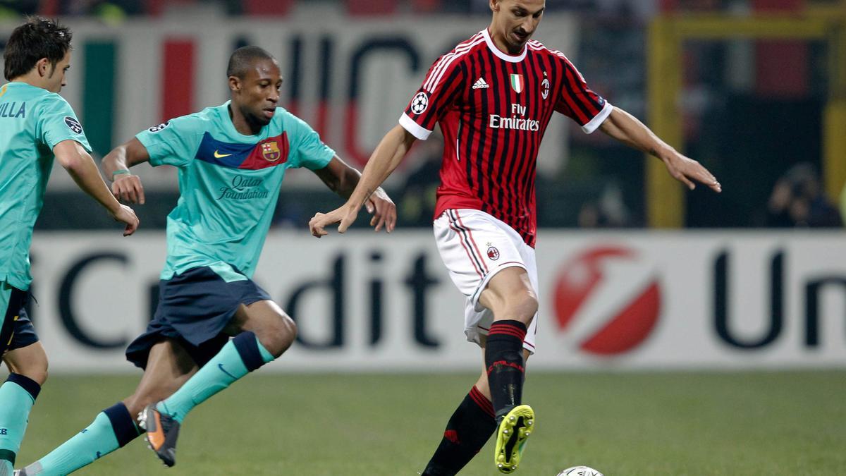 Seydou Keita & Zlatan Ibrahimovic