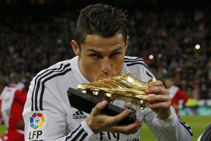 Cristiano Ronaldo avec le Real Madrid