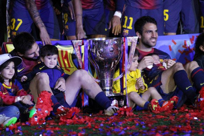Lionel Messi, Cesc Fabregas, Barcelone