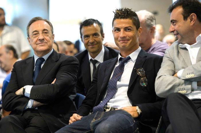 Cristiano Ronaldo, Jorge Mendes, Real Madrid