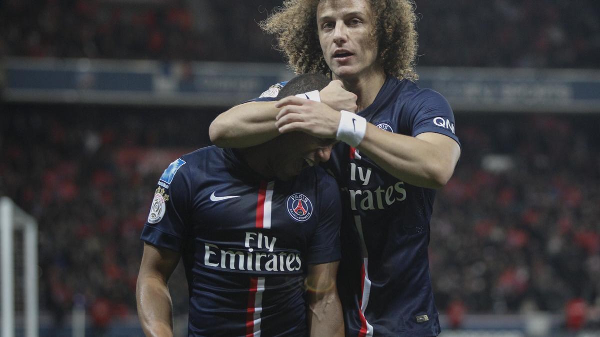 Lucas Moura & David Luiz, PSG