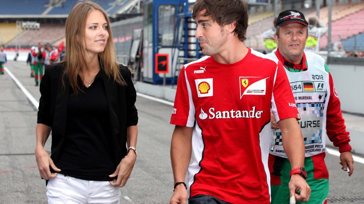 Fernando Alonso & Dasha Kapustina
