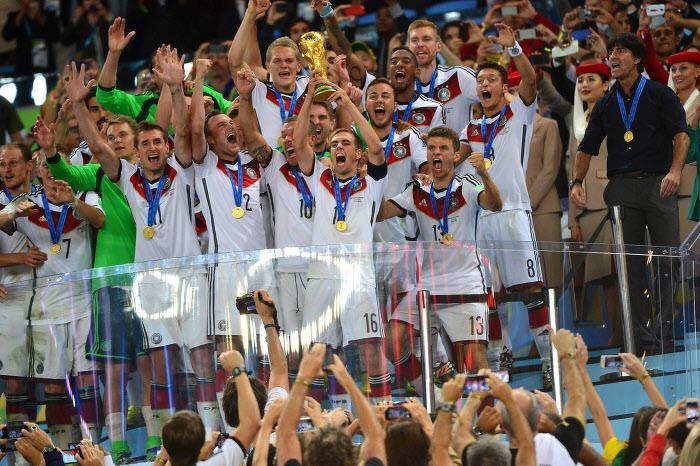 L'Allemagne, championne du monde 2014