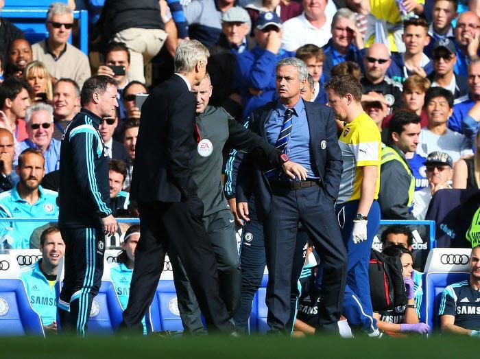 Wenger répond à Mourinho sur la campagne anti-Chelsea
