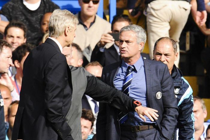 Arsène Wenger, José Mourinho
