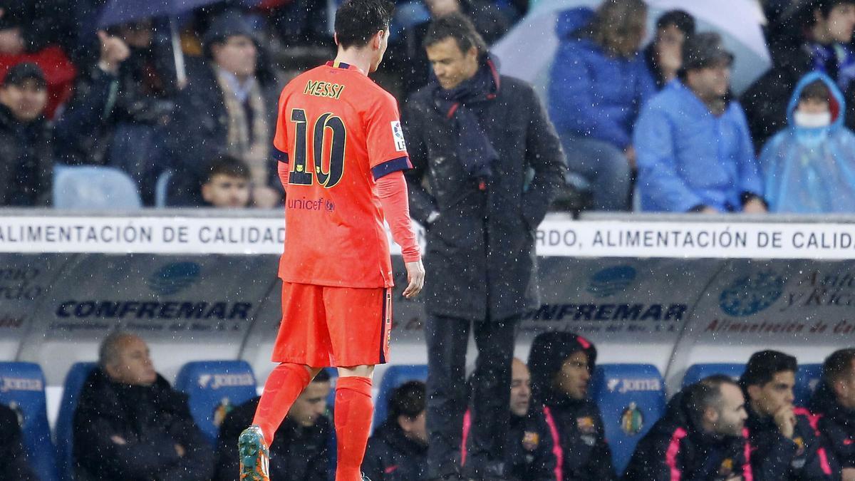 Luis Enrique & Lionel Messi, Barcelone