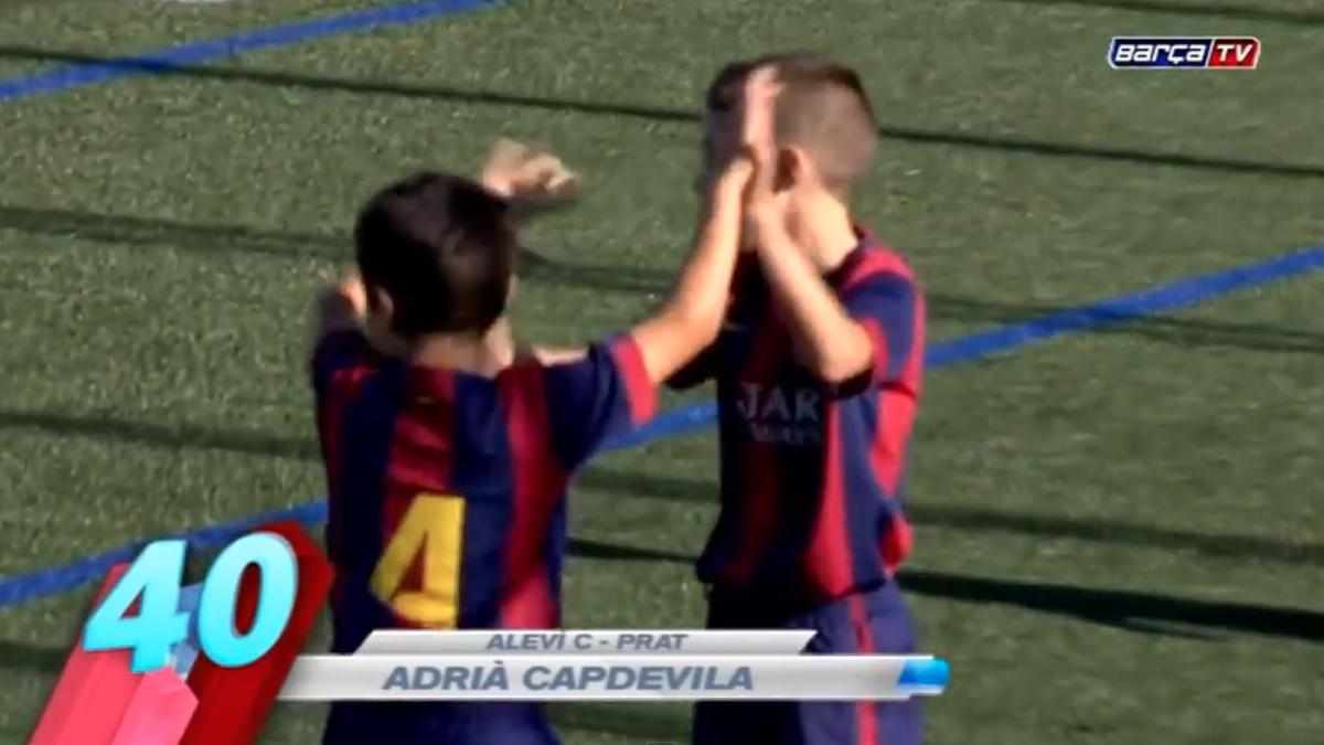 FC Barcelone : Les 50 plus beaux buts de la Masia cette saison (vidéo)