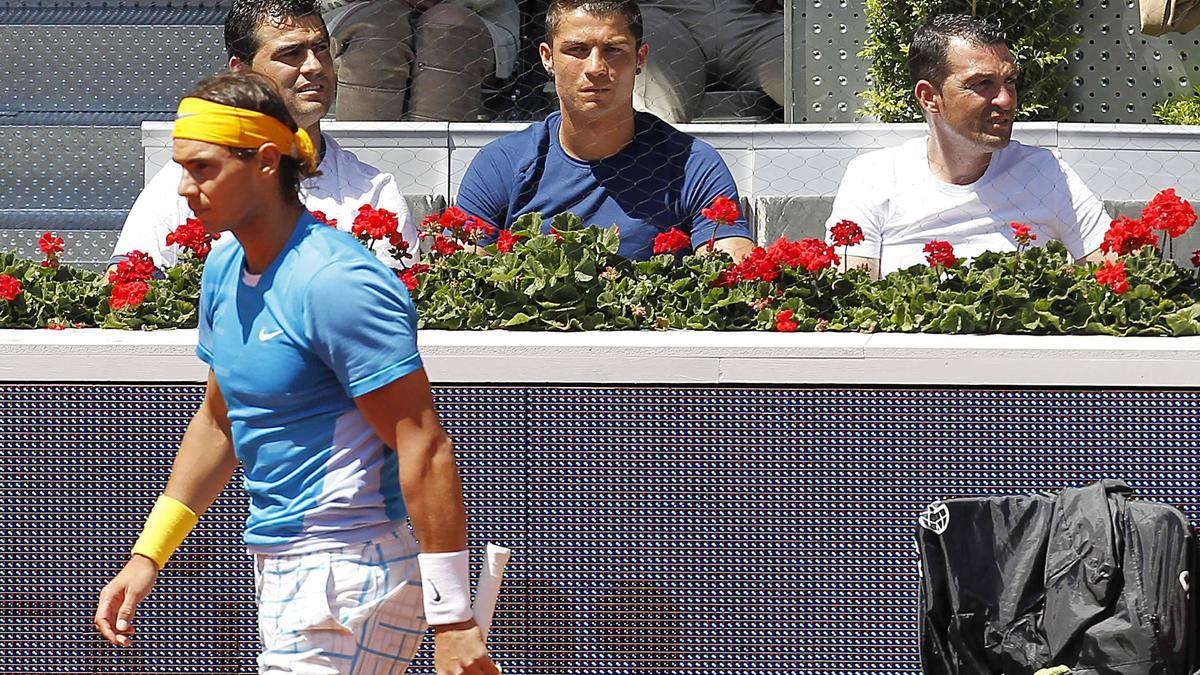 Tennis : Quand Rafael Nadal adresse un message à Cristiano Ronaldo !