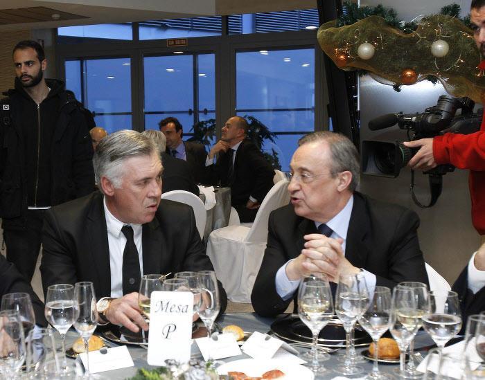 Quand Ancelotti réagit au coup de colère de Florentino Pérez