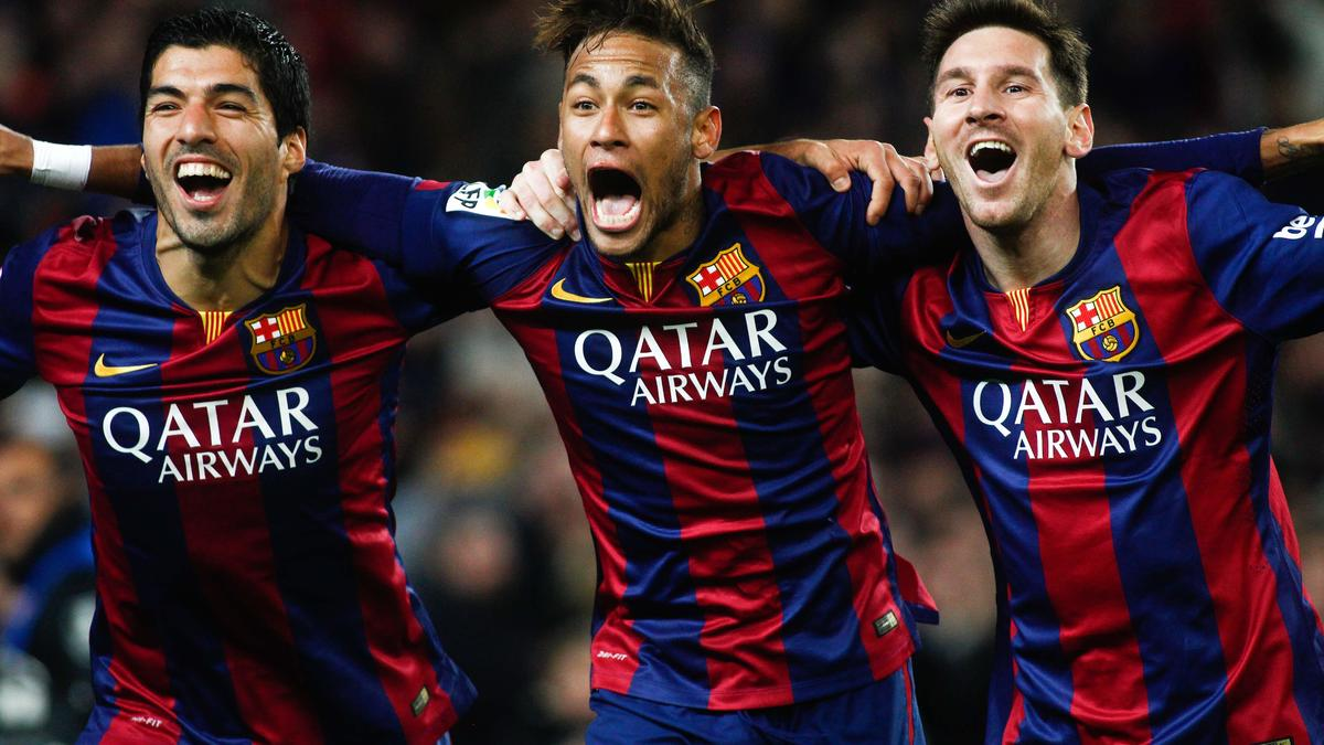 Messi - Neymar - Suarez, Barcelone