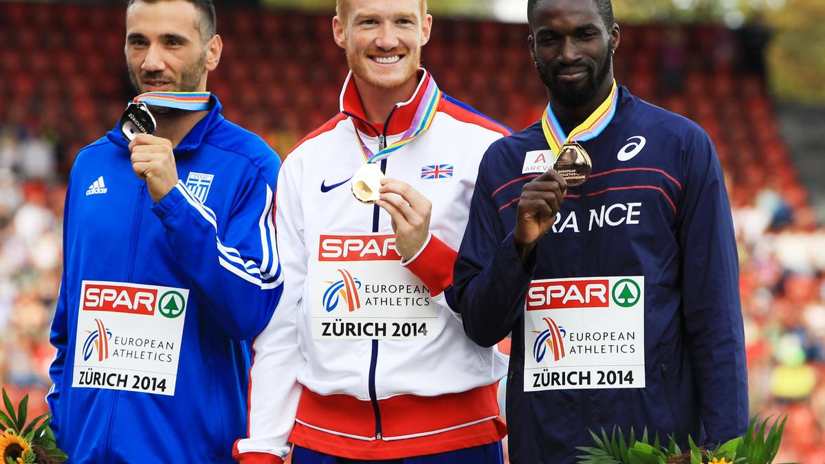 Greg Rutherford, Athletisme