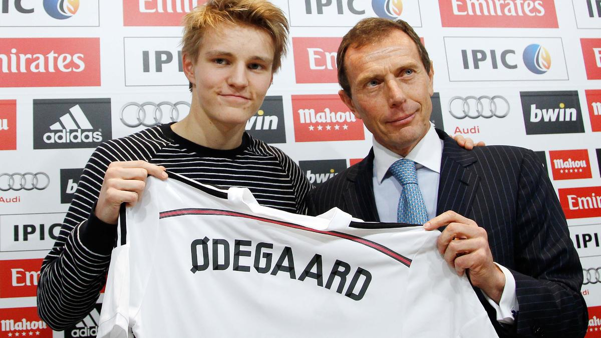 Martin Odegaard & Emilio Butragueno, Real Madrid