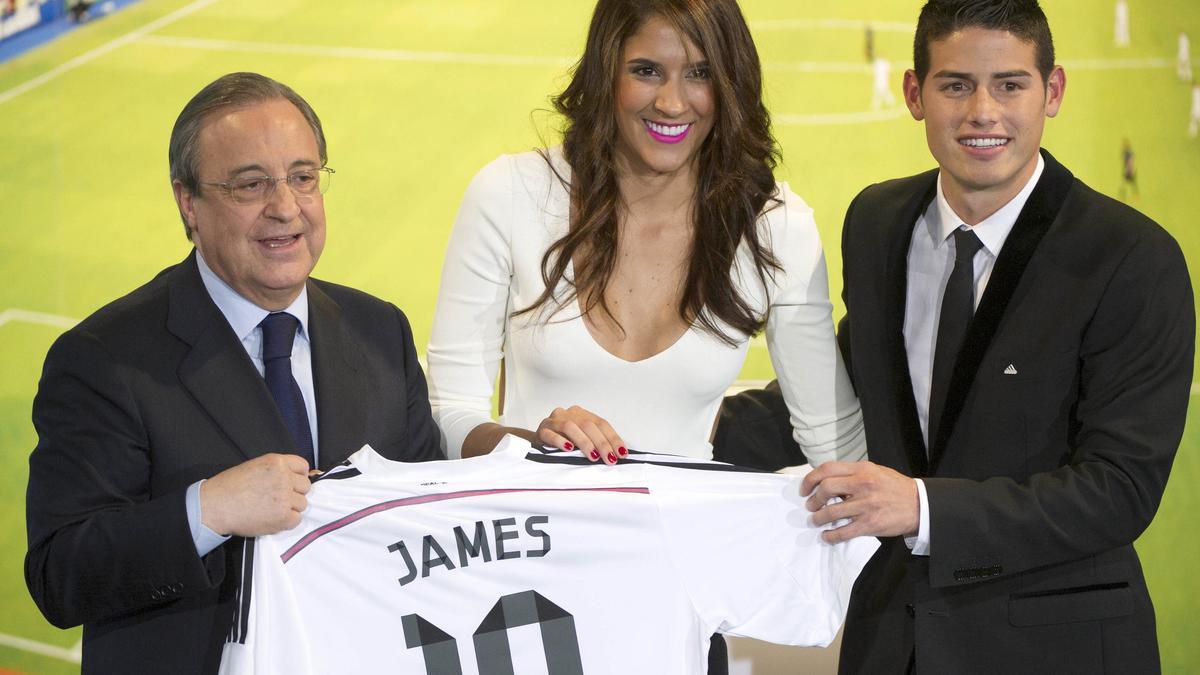 James Rodriguez & Daniela Ospina