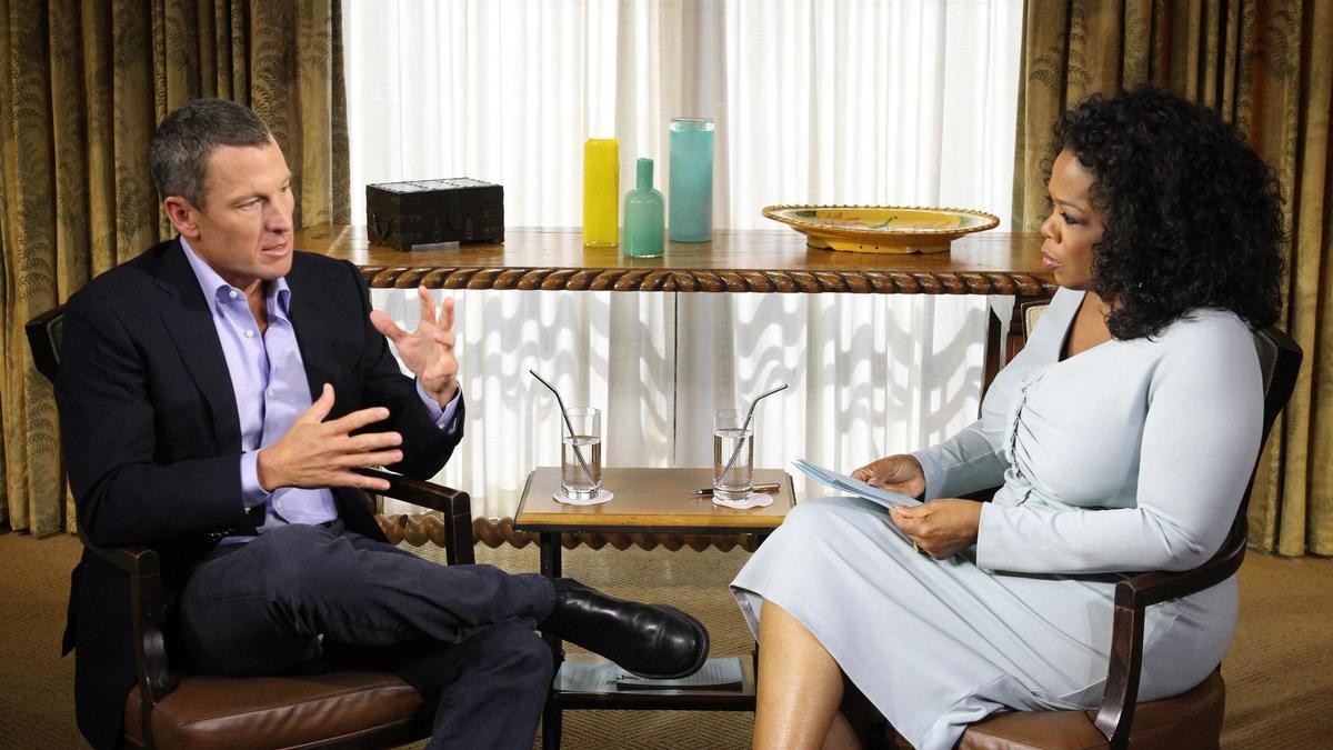Lance Armstrong & Oprah Winfrey