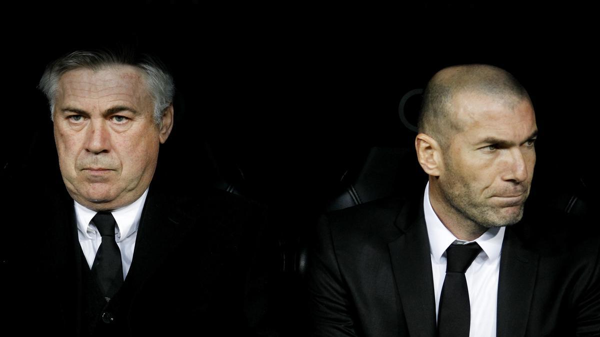 Carlo Ancelotti & Zinedine Zidane, Real Madrid