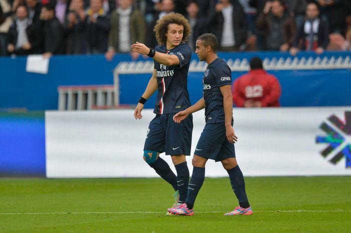 David Luiz et Lucas, PSG