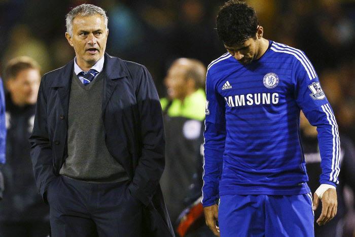 José Mourinho, Diego Costa, Chelsea