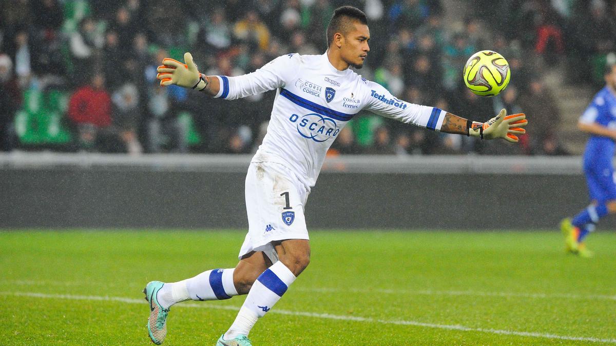 Alphonse Areola, SC Bastia