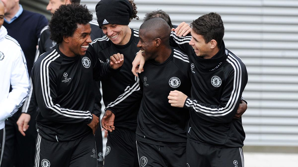 Willian, David Luiz, Ramires & Oscar, Chelsea