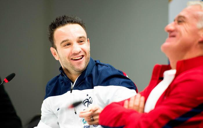Mathieu Valbuena, Didier Deschamps