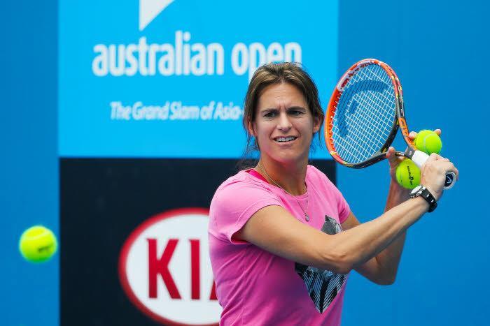 Tennis - Open d'Australie : Quand Am�lie Mauresmo donne Djokovic favori contre Murray !
