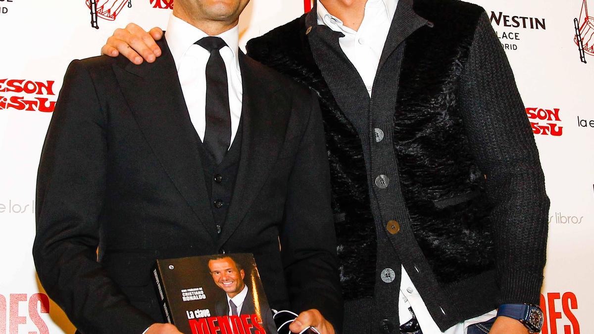 Cristiano Ronaldo & Jorge Mendes