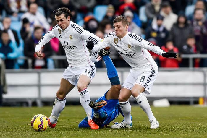 Toni Kroos et Gareth Bale, Real Madrid