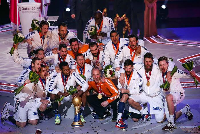 Handball handball jackpot pour les bleus apr s la victoire en coupe du monde - Qatar coupe du monde handball ...