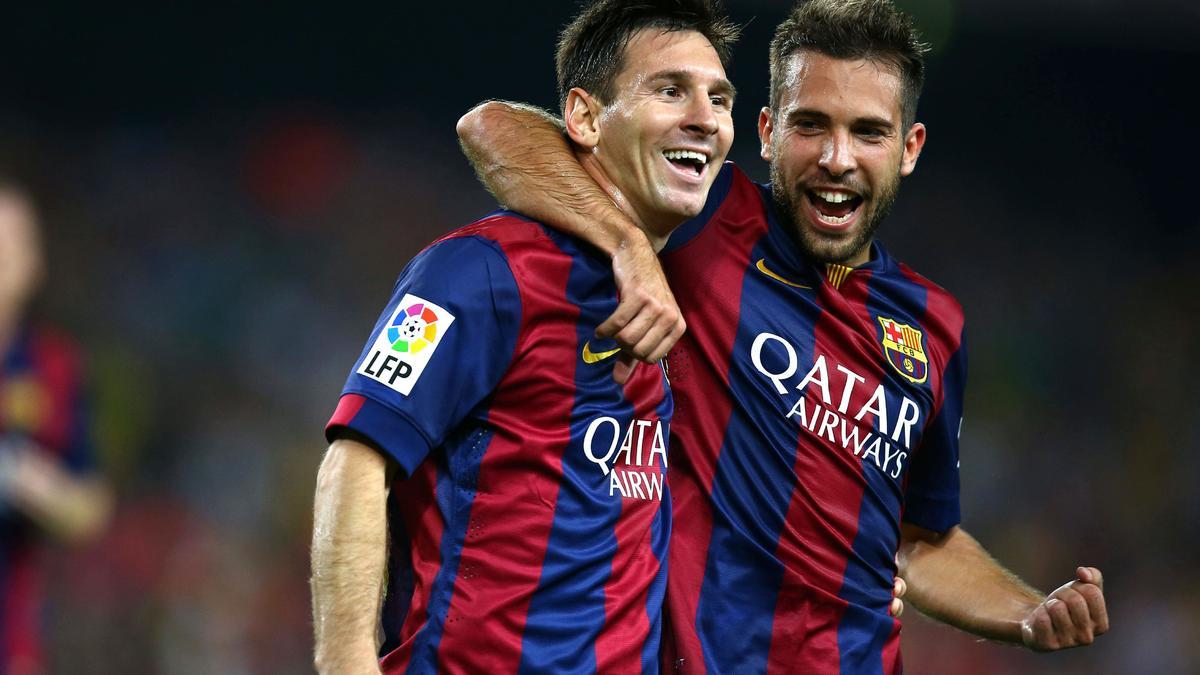 Lionel Messi & Jordi Alba, Barcelone