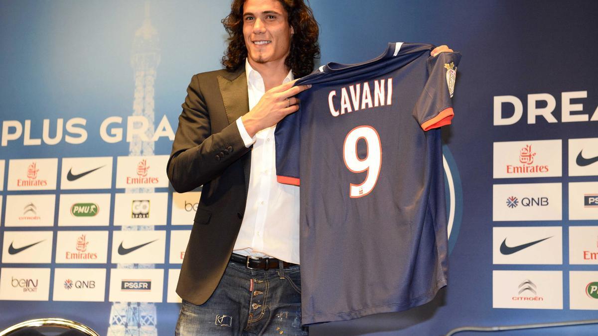 Edinson Cavani, PSG