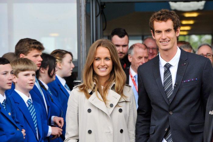 Tennis : La date du mariage d'Andy Murray et Kim Sears serait fix�e !