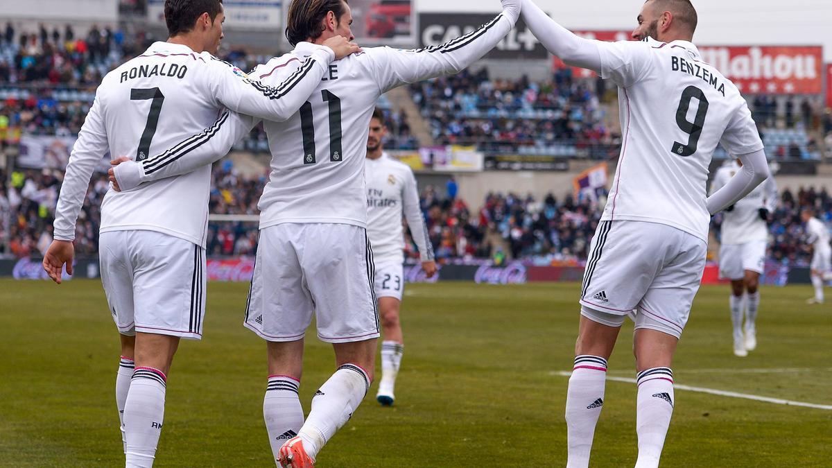 Cristiano Ronaldo, Gareth Bale & Karim Benzema, Real Madrid