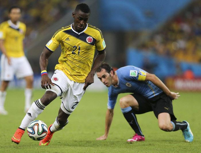 Jackson Martinez, Colombie