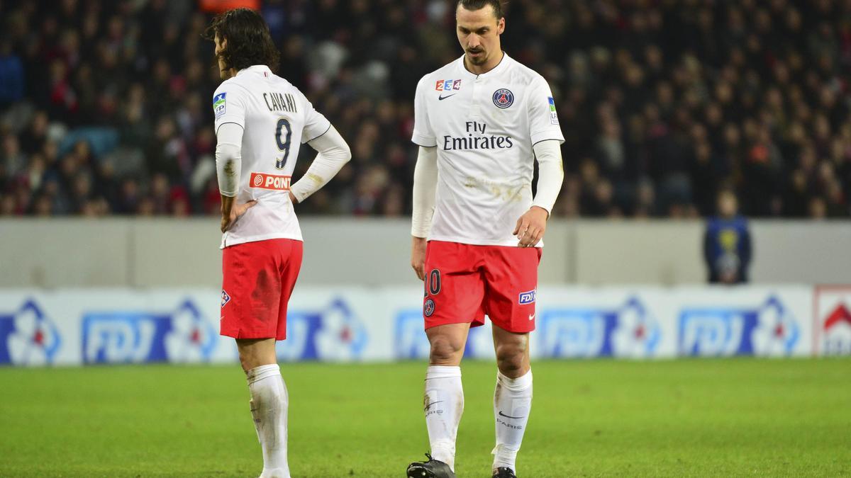 Edinson Cavani - Zlatan Ibrahimovic, PSG