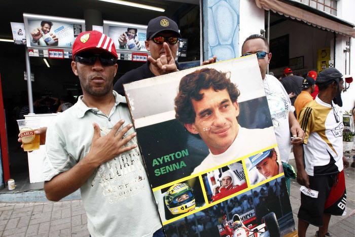 Fan d'Ayrton Senna
