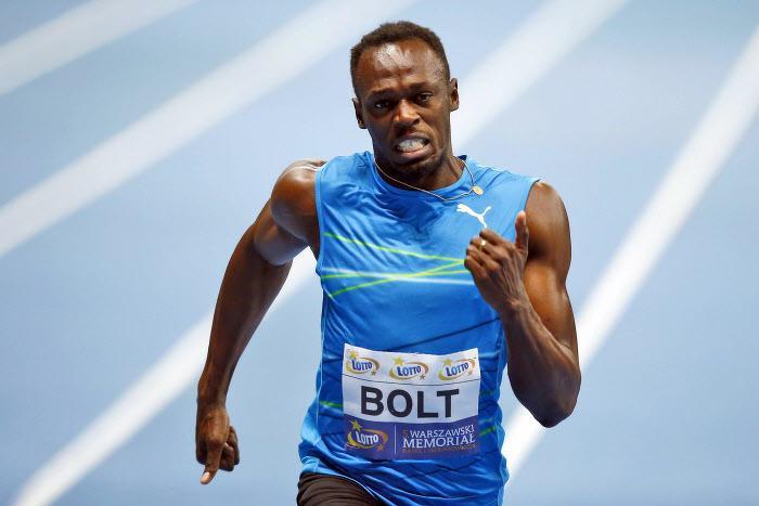 Usain Bolt, athlétisme