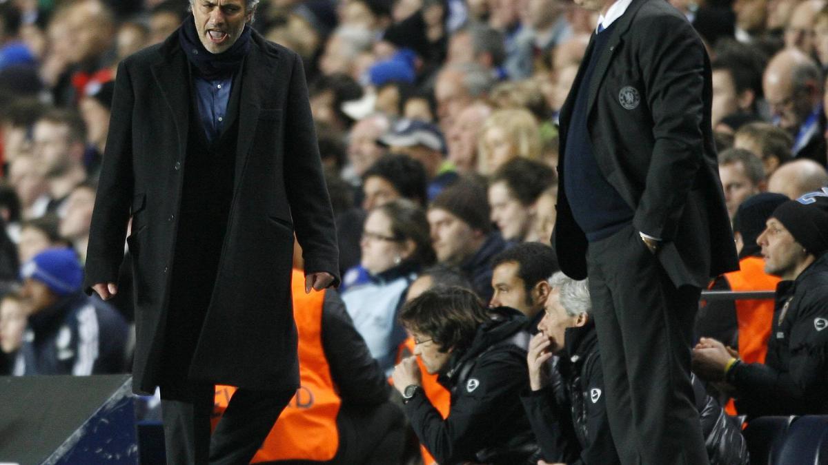 Carlo Ancelotti et José Mourinho